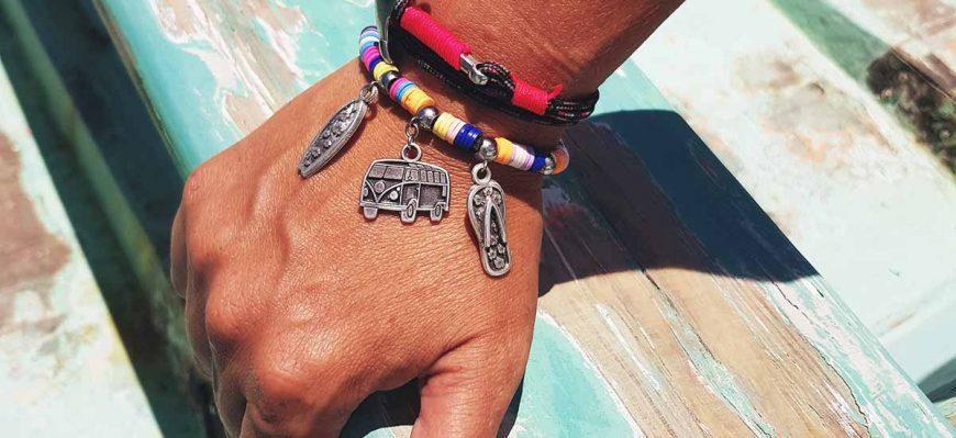 pulseras en verano